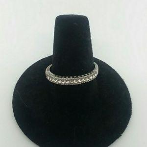 💍 Size 9 Silver-Tone Fashion Ring
